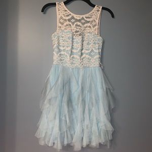 Pretty Light Blue Dress